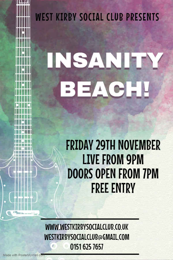 INSANITY BEACH!